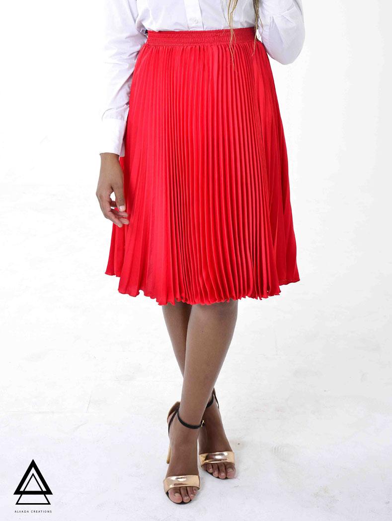 Tralala Skirt – Red